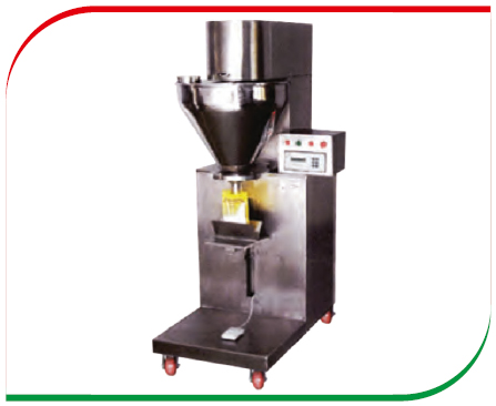 POWDER FILLING MACHINE FOR FOOD INDUSTRIES